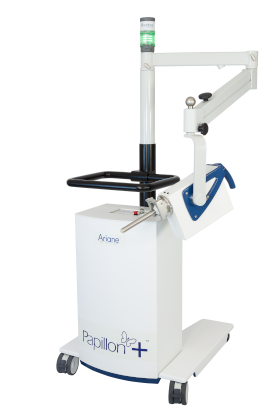 The wireless and portable Papillon+ X-ray Bracytherapy System delivers 50 kVp X-rays